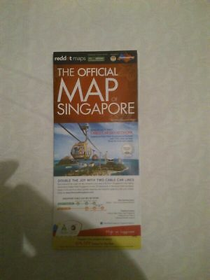 SINGAPORE 78X46cm - New Map !!!