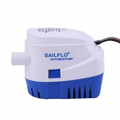 12V 750GPH Full Automated Bilge Pump All-in-one Pump & Float Switch WSstem MH
