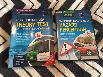 The Official DVSA Complete Theory Test Book & DVD For Large Vehicles