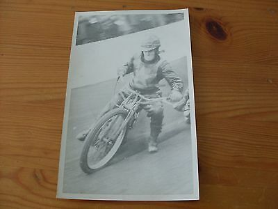speedway photographs--Billy Bales Norwich autographed (545)