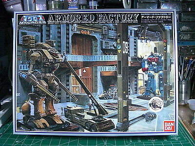 Macross Armored Factory*bandai*1/100*unstarted*sealed Inside*l@@k