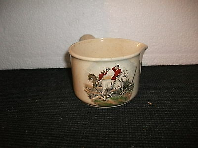 royal worcester palissy hunting scenes soup tureen/ladel