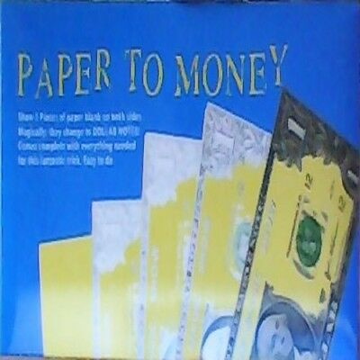 Paper to Money Wow your friends with this amazing trick  CLOSING DOWN SALE