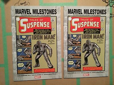 Tales of suspense 39 Marvel Milestones  NM (Iron Man origin)