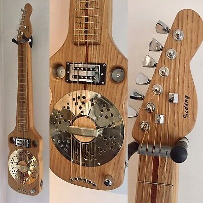 Lap Steel Resonator by Goding Guitars.