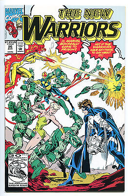 THE NEW WARRIORS, Issue #26, (Marvel 1990), NM