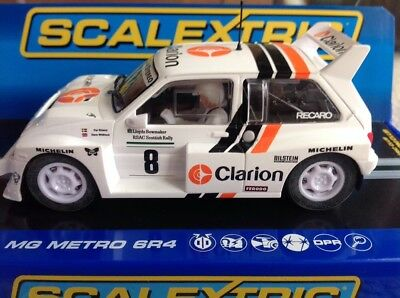 Scalextric 1:32 Scale C3306 Metro 6R4 Clarion Lombard Rac Rally 1986 *new*