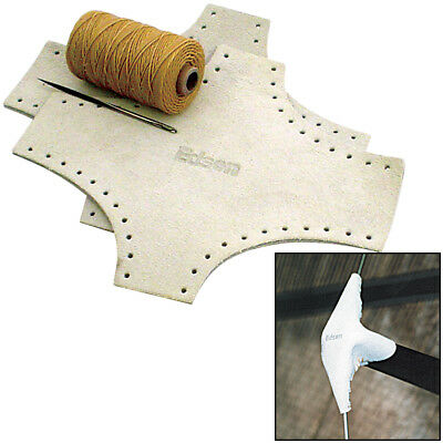 Edson Leather Spreader Boots Kit - Large