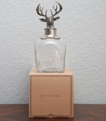Stag Decanter - UK Stock - Brand New Boxed £100 - Pottery Barn - Free Shipping