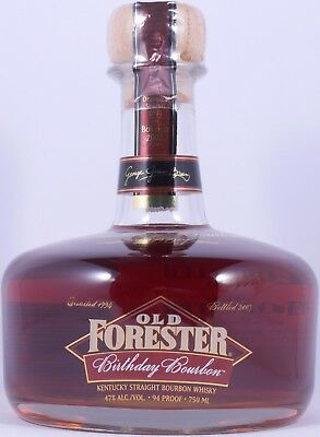Old Forester Spring 1994 13 Years 2007 Birthday Bourbon Whiskey 47,0% Vol. RARE