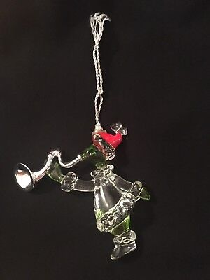 Crystal Grinch Ornament