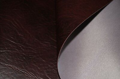 Brown Expandable Premium Faux Leather Upholstery Material Leatherette Fabric