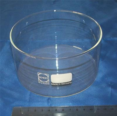 900ml Glass Crystallising Evaporating Dish Laboratory Chemistry Pyrex 140mm Lab
