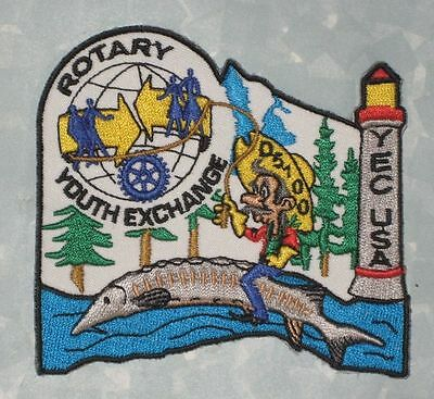 Rotary Youth Exchange Patch - YEC USA