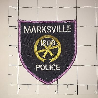 Marksville Police Dept Patch - Louisiana