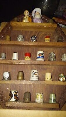 Thimbles With Display To Hang On Wall