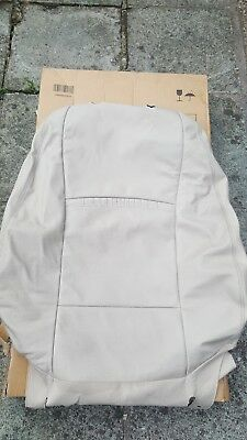 Complete Drivers Seat Leather Cover Bmw F07 F10 F11 LCI Oyster Superb Condition!