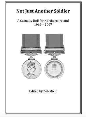 Northern Ireland Troubles Op Banner Medal Casualty Roll