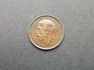 GB COINS GEORGE V HALF-PENNY 1912 (25mm Dia)