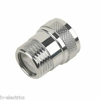 "Chrome Shower Non Return Check Valve 1.5 inch "" 1/2 Prevents back siphonage New"