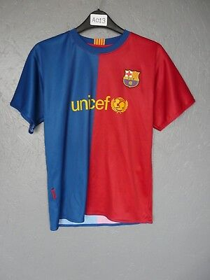 10 Messi Barcelona Roger's Football Shirt Size 12 Years - A013