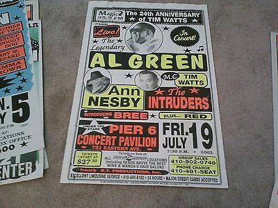 All Green  Motown   Boxing Style   Concert Poster