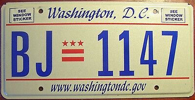 2000s WASHINGTON D.C. DISTRICT OF COLUMBIA RARE ISSUE INTERNET WWW LICENSE PLATE