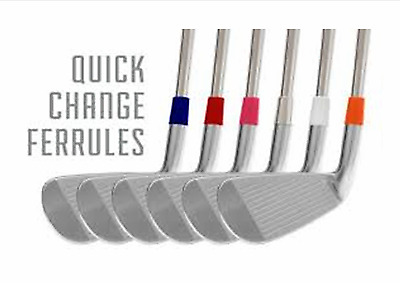 Quick Change Golf Club Ferrules …customise your clubs for less than £1.30 each.
