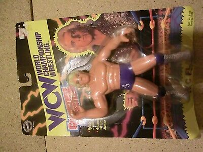 nature boy ric flair wcw collectible wrestlers moc auf karte wrestling hasbro