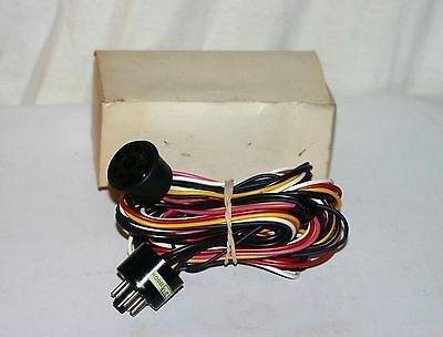 7 Pin Extension Cord Cable 5.5 Feet. For Vacuum Tube Amplifier Radio 965795. NOS