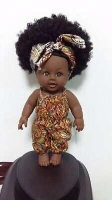 Soft vinyl 12inches Afro Baby Dolls