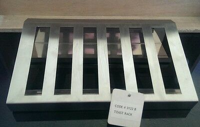 Brand new large metal toast rack breakfast