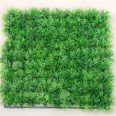 25cm Artificial Fake Plastic Green Synthetic Grass Lawn Sod Meado Plant Decor