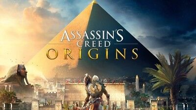 Assassins Creed Origins - PC - Region Free - Fast Delivery - Cheapest Price