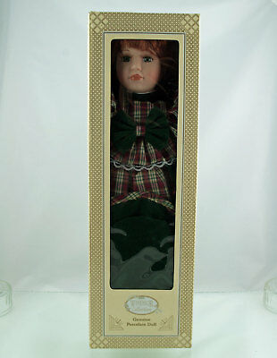 Windsor Collection Porcelain Doll Janet (boxed)