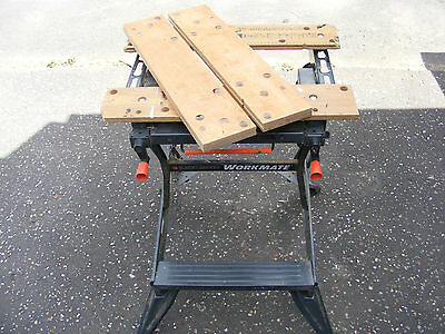NEW  BIRCH PLY VICE JAWS / TOP FOR BLACK & DECKER WORKMATE WM550. Spare parts.