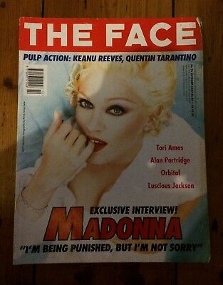 Madonna  The Face October 1994 Magazine