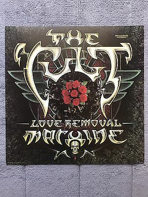 The Cult Love Removal Machine RARE promo 12 x 12 poster flat '87