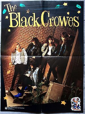The Black Crowes Shake Your Money Maker + Band Shot RARE promo posters '90-'91