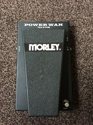 Morley Power Wah True Bypass (Barely Used)