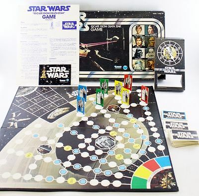 Vintage Star Wars Escape From Death Star Board Game MIB ...