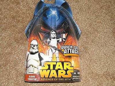 Star Wars Revenge Of The Sith Clone Trooper Quick Draw Attack