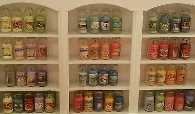 1:12 Scale AND 1:6 (Barbie) hand Crafted Miniature Dollhouse Jar Candles  $2.50