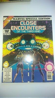Set of 2 - Marvel Special Edition Close Encounters of the Third Kind - 1978