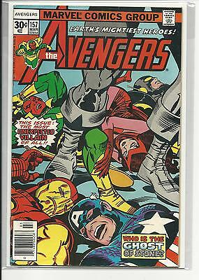 Avengers # 157 (Kirby Cover, Mar 1977), Fn/vf