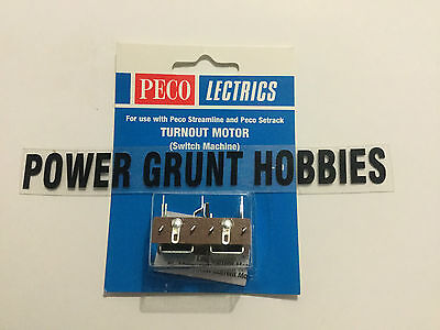 PECO PL-10 LECTRICS TURNOUT MOTOR (Power Grunt Hobbies)