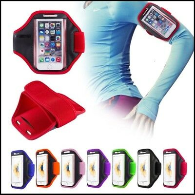 Gym Running Jogging Sports Armband Holder For iPhone Samsung Nokia LG Huawei HTC