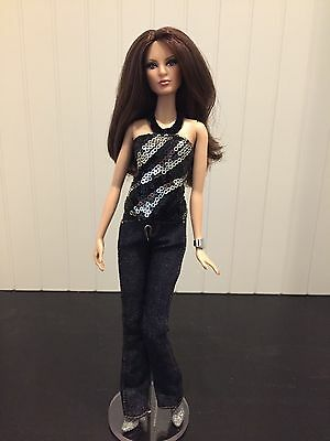 Barbie Basics Denim Collection 002 Model 14 Louboutin Face In Sequin Top