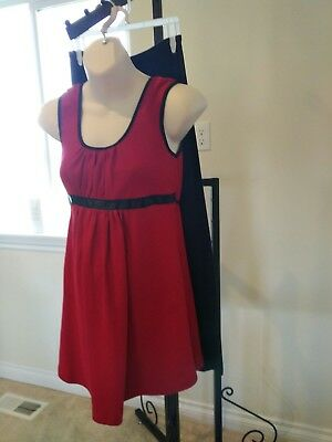 NEW Maternity clothing set outfit Small Medium red black Tatiana's Maternity