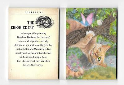 2016 UD Goodwin Champions THE CHESHIRE CAT Alice in Wonderland BOOKLET 01/10 1/1